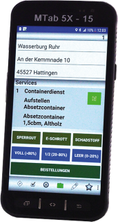 MTab 5X - Smartphone mit Android Software